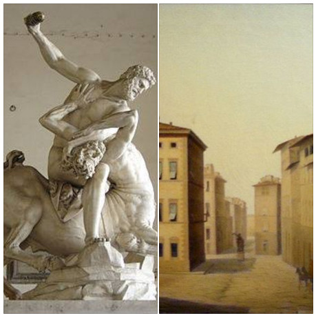 Hercoles and Nesso by Giambologna