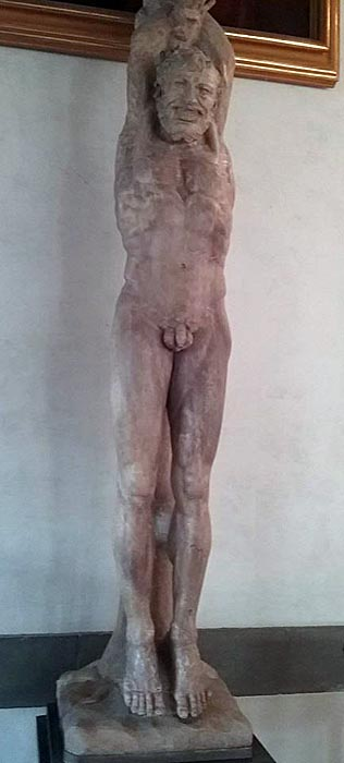 The flaying of Marsyas belonged to Cosimo the Elder