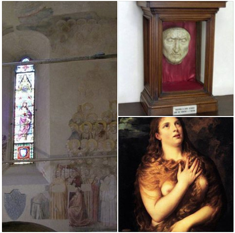 The Chapel of Mary Magdalene in the Bargello Museum and Dante's portrait